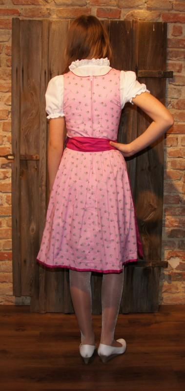 kidstracht teenie dirndl 152 164 incl bluse sch rze pink. Black Bedroom Furniture Sets. Home Design Ideas
