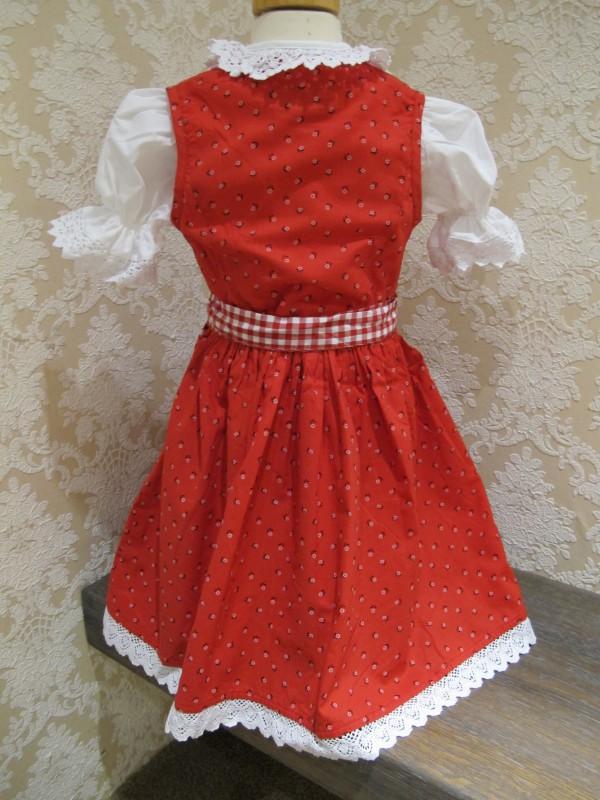 kidstracht dirndl rot inkl bluse gr 80 164 sch rze. Black Bedroom Furniture Sets. Home Design Ideas