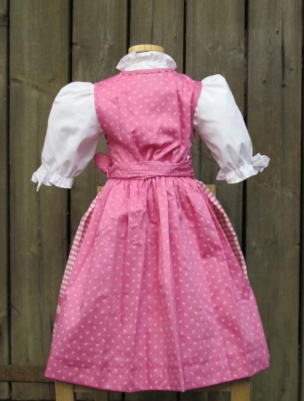 turi trachten rosa dirndl kinderdirndl incl bluse gr 98. Black Bedroom Furniture Sets. Home Design Ideas
